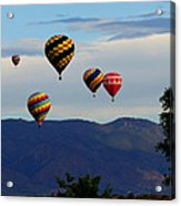 Balloon Rise Acrylic Print