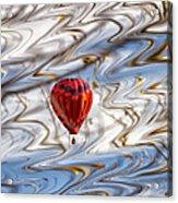 Balloon Shimmy Acrylic Print