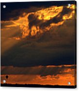 Ballooning With The Gods Acrylic Print