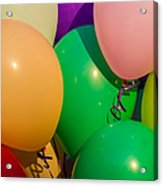 Balloons Horizontal Acrylic Print