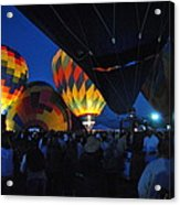 Balloons In The Crowd Acrylic Print