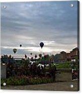 Balloons Over Lewiston Acrylic Print