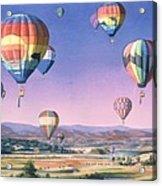 Balloons Over San Dieguito Acrylic Print