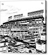 Ballpark Acrylic Print