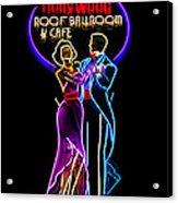Ballroom Dancing Sign Acrylic Print