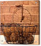 Balls In The Basket Acrylic Print