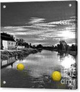 Balls Of Athelney  Acrylic Print