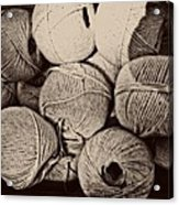 Balls Of String Acrylic Print