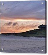 Ballston Beach Sunset Acrylic Print