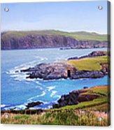 Ballyferriter Co. Kerry Ireland Acrylic Print by Jo Collins