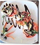 Balsamic Salad Acrylic Print