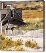 Balston Beach House Acrylic Print
