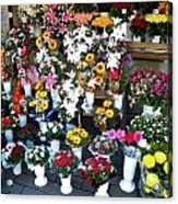 Baltic Flower Shop Acrylic Print