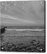 Baltic Sea And Clouds Acrylic Print