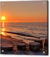 Baltic Sun Acrylic Print