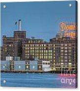 Baltimore Domino Sugars Plant I Acrylic Print
