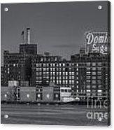 Baltimore Domino Sugars Plant II Acrylic Print