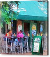 Baltimore - Happy Hour In Fells Point Acrylic Print