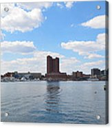Baltimore Harbor Acrylic Print