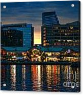 Baltimore Harborplace Light Street Pavilion Acrylic Print
