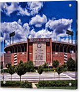 Baltimore Memorial Stadium 1960s Acrylic Print
