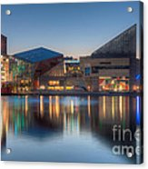 Baltimore National Aquarium At Dawn I Acrylic Print