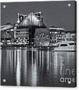 Baltimore National Aquarium At Twilight II Acrylic Print