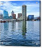 Baltimore On The Water Acrylic Print