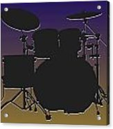 Baltimore Ravens Drum Set Acrylic Print