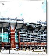 Baltimore Ravens - M And T Bank Stadium Acrylic Print
