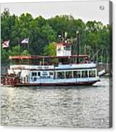 Bama Belle On The Black Warrior River Acrylic Print