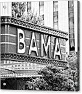 Bama Acrylic Print by Scott Pellegrin