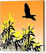 Bamboo Bird Acrylic Print