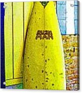 Banana Board Acrylic Print