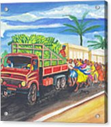 Banana Delivery In Cameroon 02 Acrylic Print