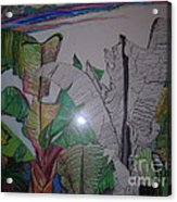 Banana Leaves Acrylic Print