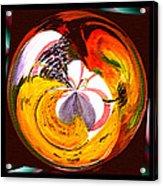 Banana Swirl Acrylic Print