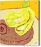 Bananas From Paphos 3 Acrylic Print by Anita Dale Livaditis