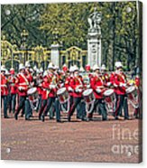 Band Of The Guard Acrylic Print