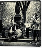Band On Union Square New York City Acrylic Print