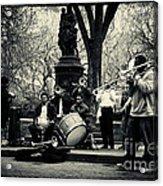 Band On Union Square New York City Acrylic Print