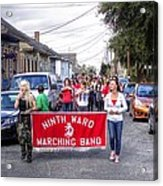 Band Practice In The Bywater Acrylic Print