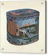 Bandbox Design Acrylic Print