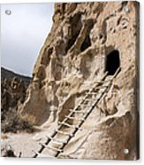 Bandelier Caveate - Bandelier National Monument New Mexico Acrylic Print