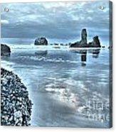 Bandon Beach Scatter Acrylic Print
