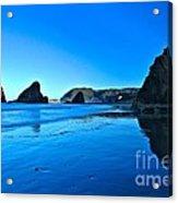 Bandon Blue Acrylic Print