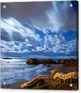 Bandon Nightlife Acrylic Print