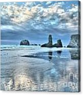 Bandon Sea Stack Reflections Acrylic Print