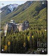Banff Fairmont Springs Hotel Acrylic Print