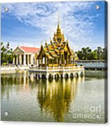 Bang Pa In Palace Thailand Acrylic Print by Colin and Linda McKie